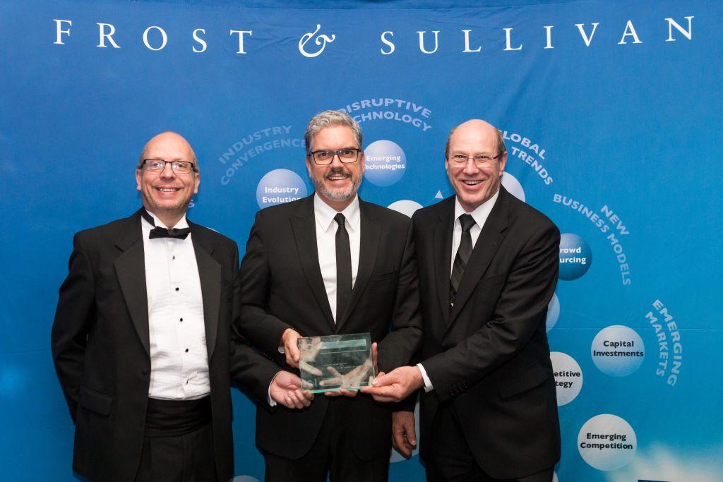 STÖBER Frost&Sullivan'da ödül aldı.