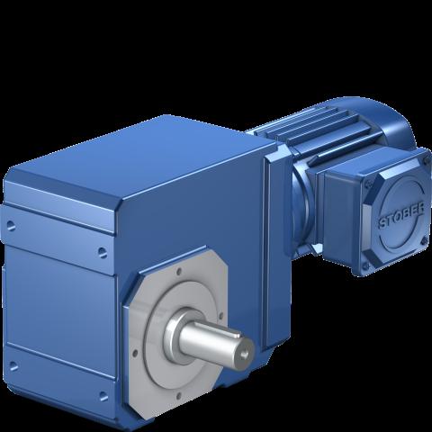 STÖBER K Serisi Redüktörlü Asenkron Motor