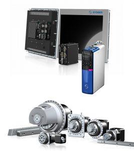 MC6 Hareket Kontrolörü ve Pinyon Kremayer Sistemler