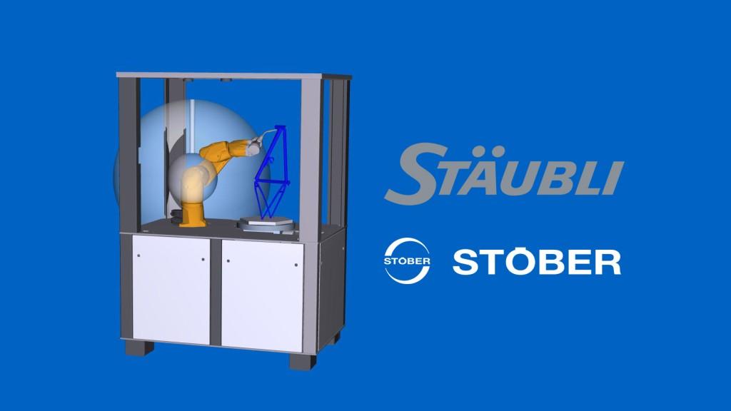 Staubli robotlar için çalışmalarını STÖBER harici eksenlerini kullanarak genişletiyor