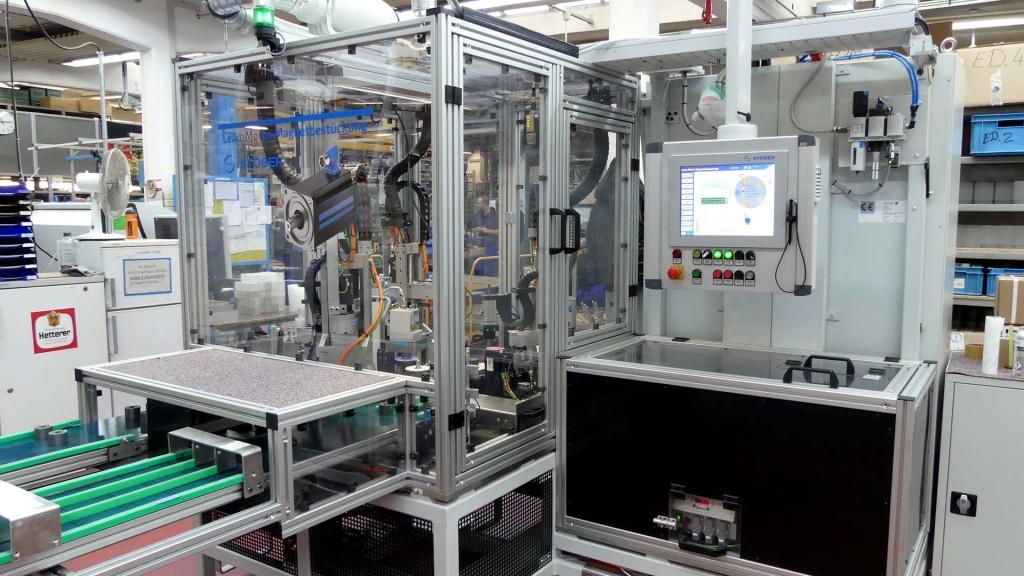 STÖBER LeanMotor'larını kendi tesislerinde kusursuz bir şekilde üretiyor