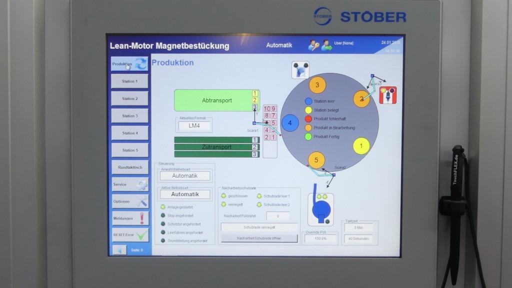 STÖBER MC6 Motion Controller kullanıyor