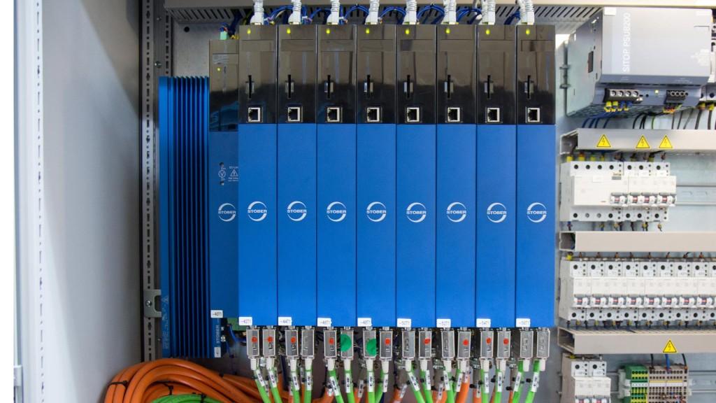 STÖBER LeanMotor üretimi için SI6 serisi servo motor sürücüsü kullanıyor.