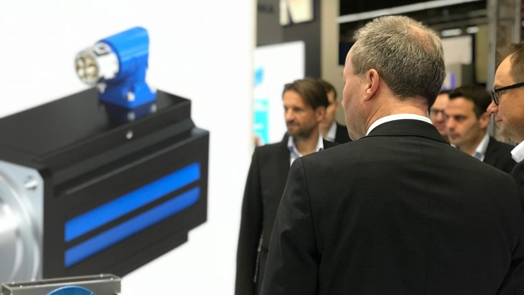 STÖBER LeanMotor ile SPS IPC Drives Fuarında